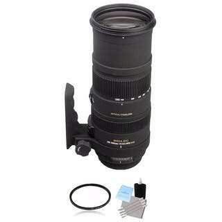 Sigma 150-500mm f/5-6.3 Lens for Nikon F Lens Bundle|https://ak1.ostkcdn.com/images/products/is/images/direct/9f4e7ce70694a123449f38950d4e5f56e380aca1/Sigma-150-500mm-f-5-6.3-Lens-for-Nikon-F-Lens-Bundle.jpg?impolicy=medium