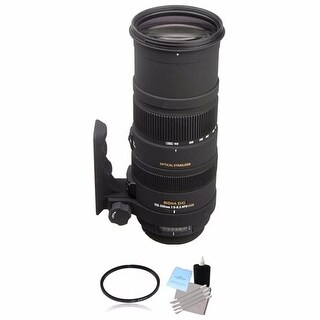 Sigma 150-500mm f/5-6.3 Lens for Nikon F Lens Bundle
