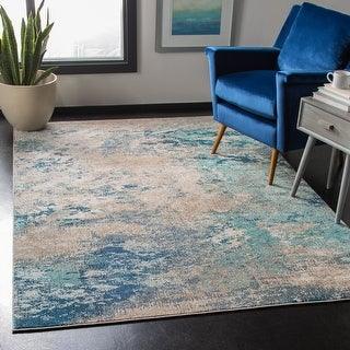 Safavieh Madison Memnuna Vintage Abstract Rug