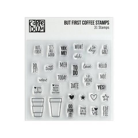 10428 simple stories carpe diem stamp but first coffee