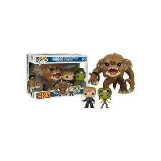 Funko POP Star Wars Rancor w/ Luke & Slave Oola 3pk