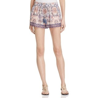 Joie Womens Nami Casual Shorts Silk Printed - S