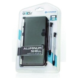 3DS Aluminum Shell with 2 Stylus Grey