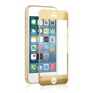 Naztech 12894 Apple iPhone SE/2017 Premium Tempered Glass Screen Protector - Gold