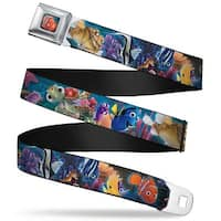 Nemo Smiling Full Color Nemo & Friends Group Webbing Seatbelt Belt Fashion Seatbelt Belt
