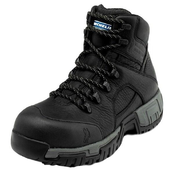 Michelin Work Boots Mens Hydroedge Steel Toe Puncture Black