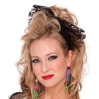 Lace Headscarf Adult Costume Accessory