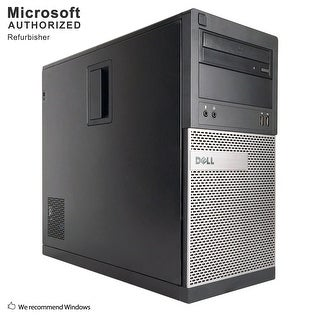 Dell OptiPlex 390 TW Intel Core i3 2120 3.30GHz, 8GB RAM, 2TB HDD, DVD, WIFI, BT 4.0, VGA, HDMI WIN10P64(EN/ES)-Refurbished
