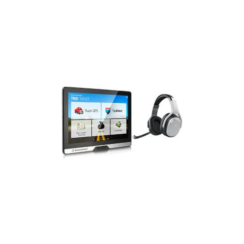 Refurbished Rand McNally TND Tablet 80 with Inbuilt Dashcam & Bluetooth Truck GPS with Headset