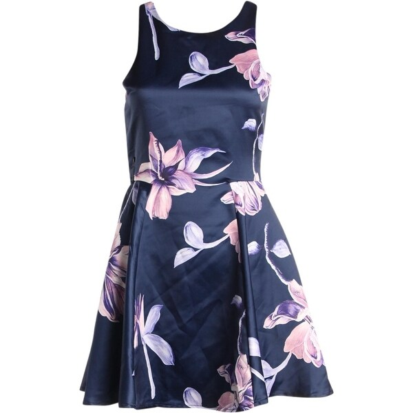 a0c9c113afc46 Shop Miss Behave Girls Semi-Formal Dress Floral Print Pleated - 16 ...