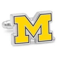 Cufflinks  University of Michigan Wolverines Cufflinks - Silver