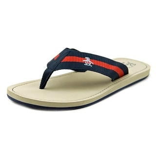 Original Penguin Poolside Men Open Toe Leather Thong Sandal