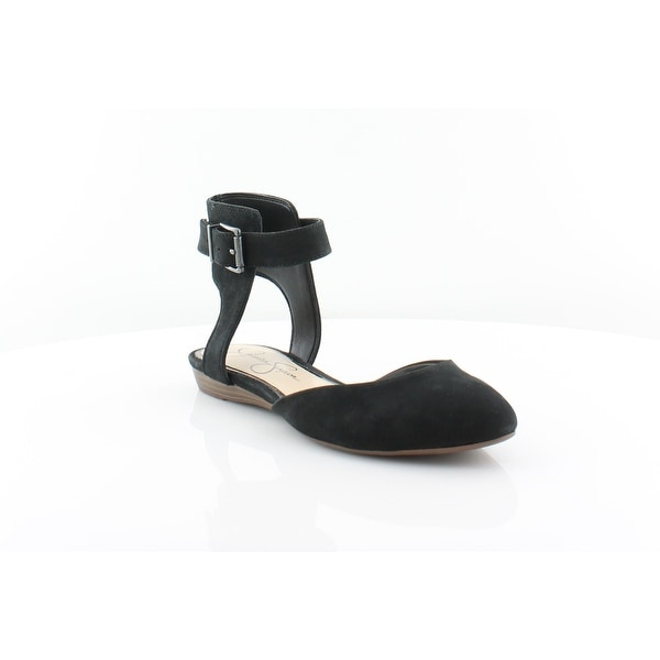 Jessica Simpson Loranda Women's Sandals & Flip Flops Black - 7