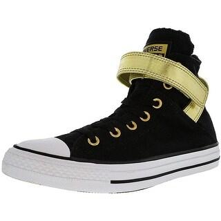 Converse Women's All Star Brea High-Top Leather Fashion Sneaker