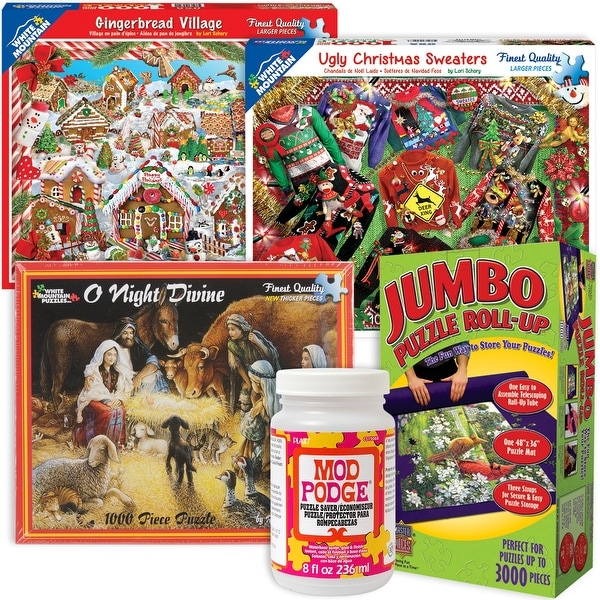 Shop Christmas Puzzle Bundle- - Free Shipping Today