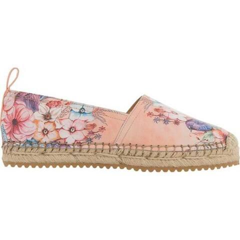 Anuschka Women's Anika Espadrille Loafer Vintage Garden Printed Leather