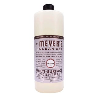 Mrs. Meyer's Multi-Surface Concentrate Cleaner, Lavender, 32 Ounces - White
