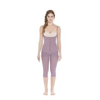 c6647c901e97d Shop Siluet Postpartum High Compression Long Leg Full Body Shaper - On Sale  - Free Shipping Today - Overstock - 23024815
