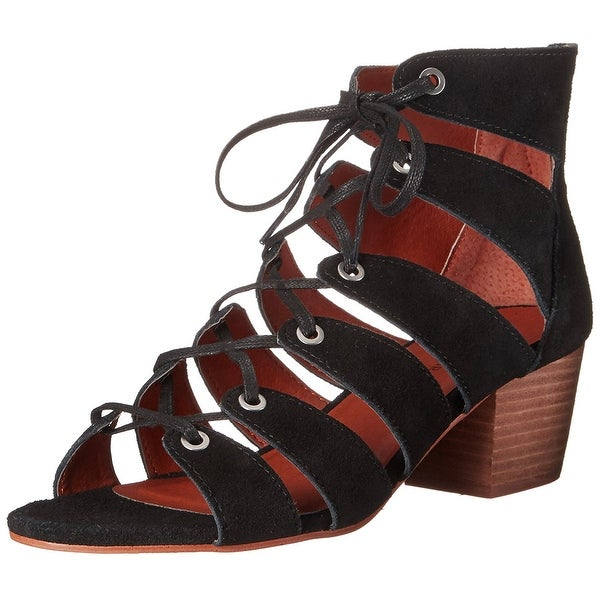 Lucky Brand Womens Genevie Open Toe Casual Strappy Sandals