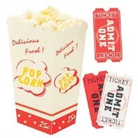 Movie Popcorn - Jolee's Dimensional Embellishments