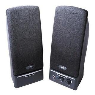 Cyber Acoustics Ca-2012Rb 2.0 Desktop/ Pc Stereo Speaker System 4 Watt Rms Black