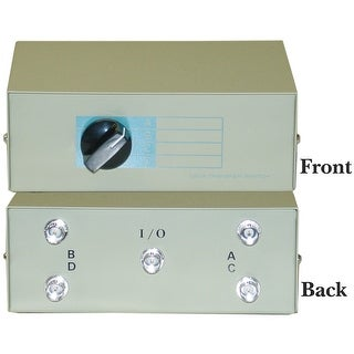Offex ABCD 4 Way Switch Box, BNC Female