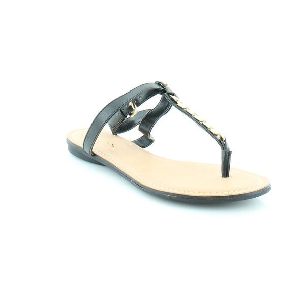 Guess Gurri Women's Sandals & Flip Flops Black
