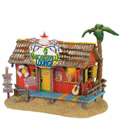 Department 56 Margaretville Village Lounge Musical Lit Building, Multicolored
