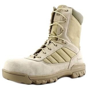 Bates 8-Inch Desert Tactical Sport Men Round Toe Leather Brown Combat Boot