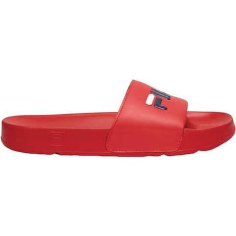 Fila Men's Drifter Slide Fila Red/Fila Navy/White
