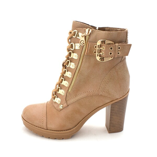 G by Guess Womens Gimmy Closed Toe Mid