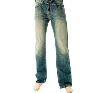 B. Tuff Western Denim Jeans Mens Tailgate Bootcut Light Wash MTAIGT