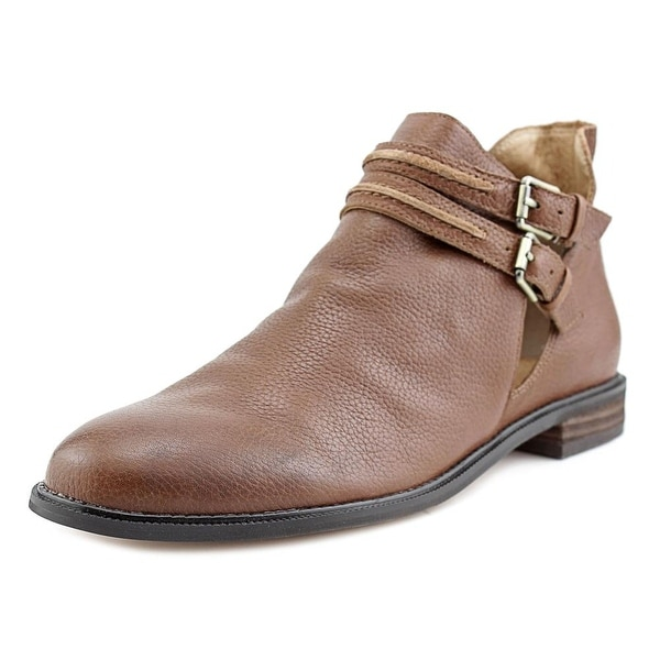 Corso Como I Slip Women Round Toe Leather Brown Bootie