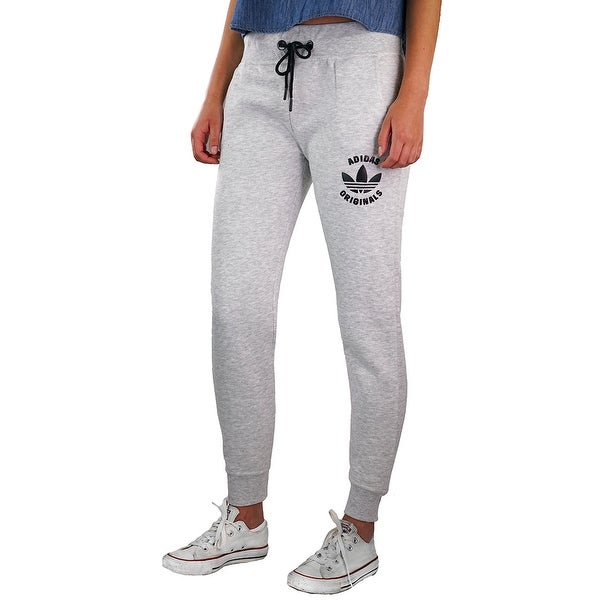 513cb8f9bfb Shop adidas Originals Women's Track Pants - Grey - On Sale - Free Shipping  On Orders Over $45 - Overstock - 23562477