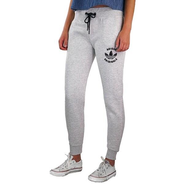 Shop Adidas Originals Womens Track Pants - Grey - On Sale -6149