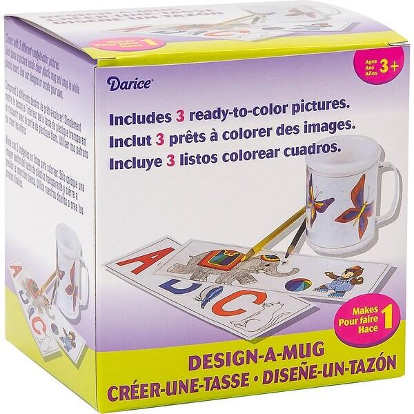 """Design-A-Mug 4.25""""-White - White"""