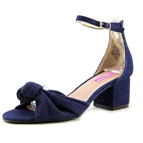 Betsey Johnson Ivee Women Denim Sandals