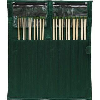 "Bamboo Straight Needles Set 13""-"