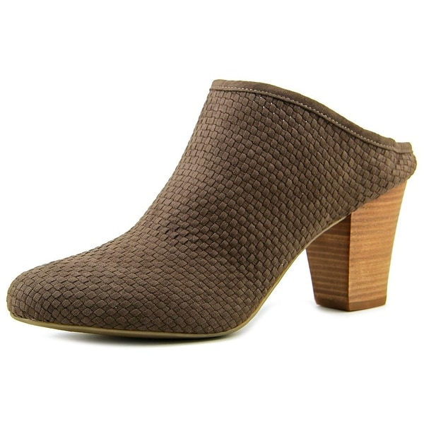 BCBGeneration Dylen Women Pointed Toe Canvas Brown Mules