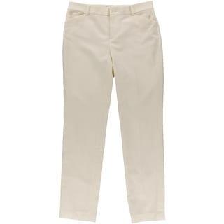 Lauren Ralph Lauren Womens Wool Solid Dress Pants