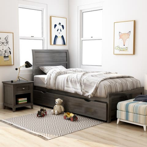 Furniture of America Wese Transitional Grey 3-piece Bedroom Set
