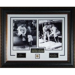 Babe Ruth unautographed New York Yankees Signature Series 35x28