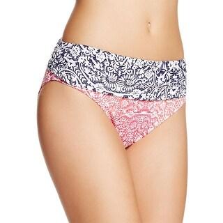 Tommy Bahama Womens Printed Bikini Swim Bottom Separates