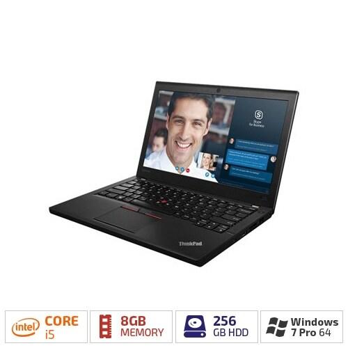 Lenovo X260 I5-2.4 12.5 8GB 256GB W7P64-W10P 20F60093US Notebooks