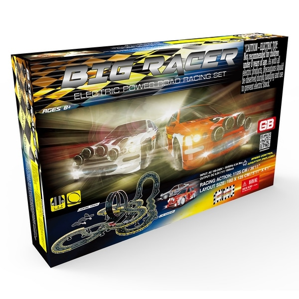 Big Racer Road Racing Slot Car Set - Electric Powered. Opens flyout.
