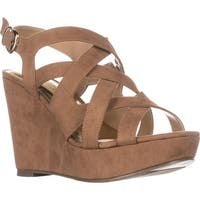 TS35 Maddor Casual Wedge Sandals, Tan