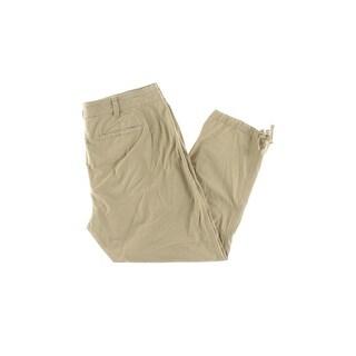 Lauren Ralph Lauren Womens Plus Cargo Pants Twill Flat Front (2 options available)