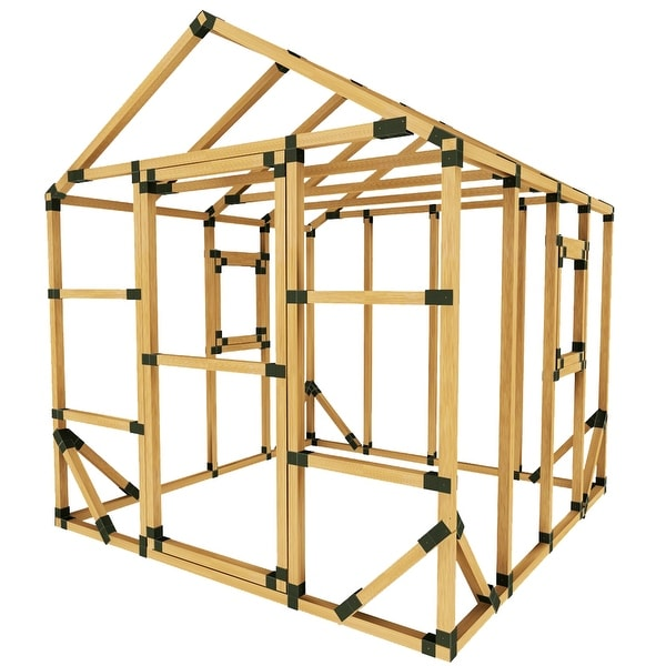 Shop Diy E Z Frame 8x8 Playhouse Kit 8x8 On Sale Free