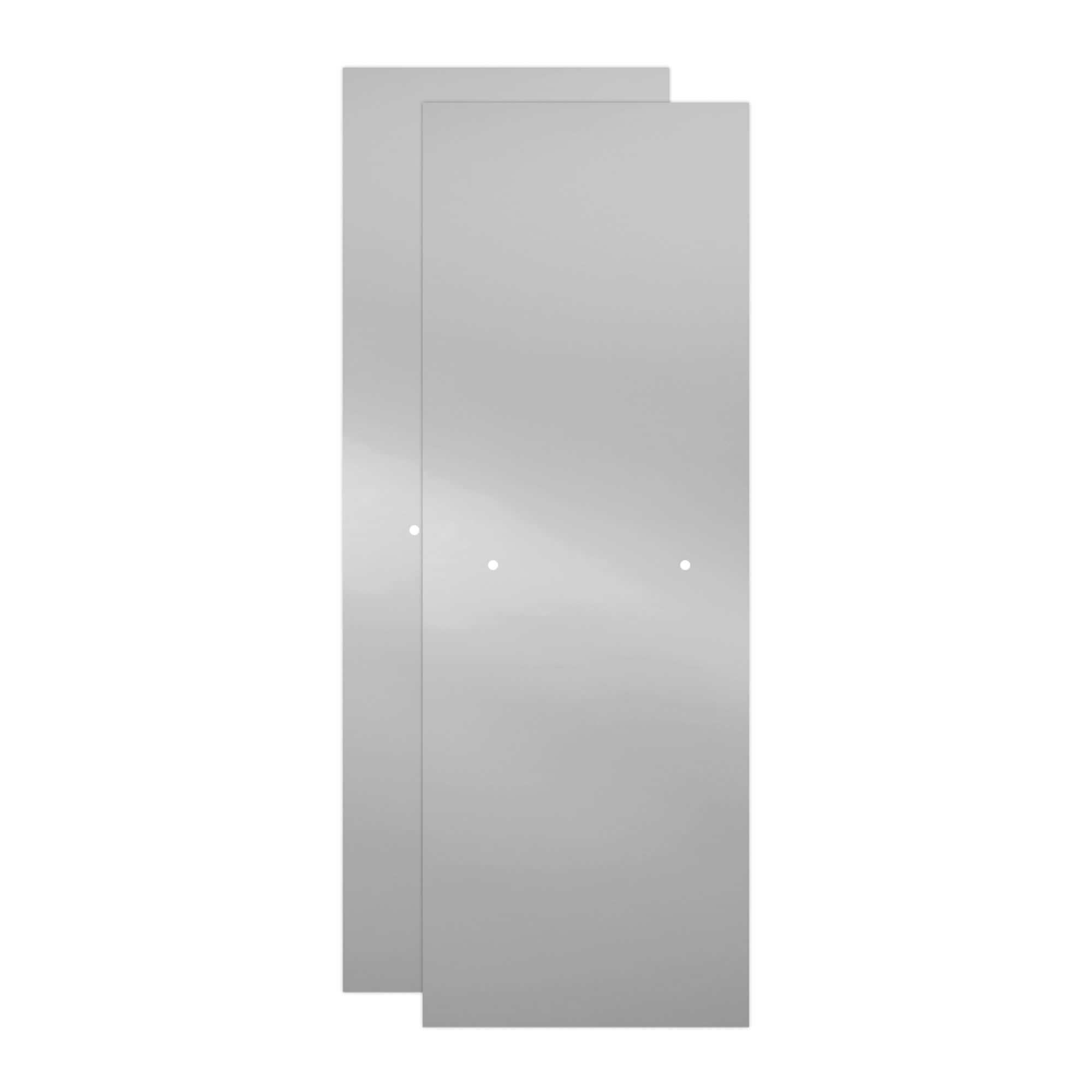 Delta Sd3956978 Classic 70 High X 59 3 8 Wide Sliding Semi Frameless Shower Door With Clear Glass Bronze