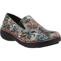Spring Step Women's Manila Black Multi Paintpot Leather